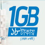 Gp1GB 18Tk  internet Pack | Grameenphone 1gp 18 taka internet offer