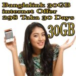 Banglalink 30GB Internet Offer | Banglalink Monthly internet package