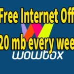 Gp Free Internet Offer 2020 Weekly 20mb - wowbox download