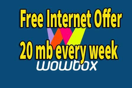 Gp Free Internet Offer Weekly 20mb – wowbox free internet wowbox download 2019