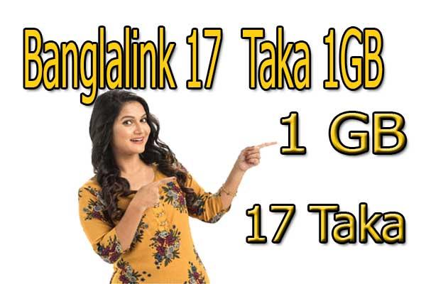 Bangallink-offer-internet,Banglalink-internet-offer-2019-,Banglalink-1GB-17-taka