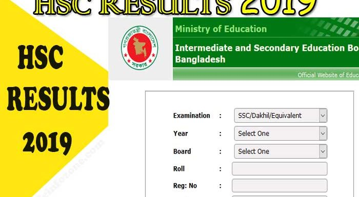 HSC Result 2019: All Education Board Results with Mark sheet