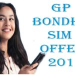 Gp Bondho sim offer August 2019: new Gp offer
