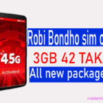 Robi Bondho Sim offer 2020(updated) reactivation sim All packages