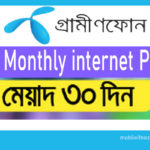 GP monthly internet pack 2020 | 30GB  with 300 minute talktime